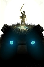 Preview iPhone wallpaper Shadow of the Colossus, PC game