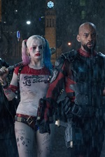 Preview iPhone wallpaper Suicide Squad, DC movies