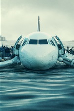 Preview iPhone wallpaper Sully 2016 movie