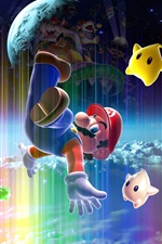 Preview iPhone wallpaper Super Mario, classic game, Nintendo