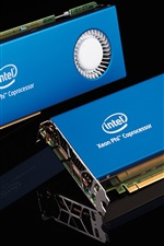 Preview iPhone wallpaper Supercomputer core hardware, Intel coprocessor card