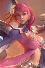 Preview iPhone wallpaper Tekken 7, beautiful girl