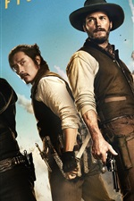 Preview iPhone wallpaper The Magnificent Seven 2016