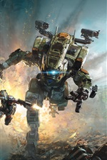 Preview iPhone wallpaper Titanfall 2
