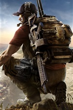 Preview iPhone wallpaper Tom Clancy's Ghost Recon: Wildlands