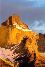 Preview iPhone wallpaper Torres del Paine National Park, Chilean Patagonia, mountains