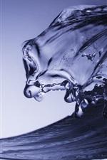 Ondas de água close-up