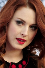 Preview iPhone wallpaper Alexandra Breckenridge 01