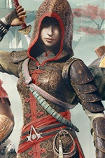 Preview iPhone wallpaper Assassin's Creed: Chronicles Trilogy