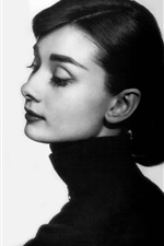Preview iPhone wallpaper Audrey Hepburn 03