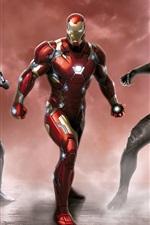 iPhone обои Капитан Америка: Гражданская война, Marvel супер героев