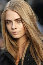 Preview iPhone wallpaper Cara Delevingne 03