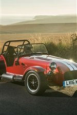 Caterham Seven 310R red sport car