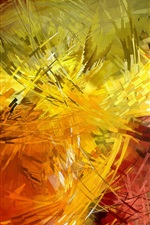 Preview iPhone wallpaper Colorful lines, strokes, abstract pictures
