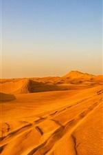 Preview iPhone wallpaper Desert, hot, sands, Dubai