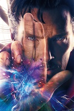 Preview iPhone wallpaper Doctor Strange, Marvel hero
