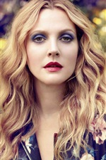 Preview iPhone wallpaper Drew Barrymore 01
