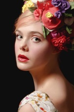 Preview iPhone wallpaper Elle Fanning 13