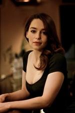 Preview iPhone wallpaper Emilia Clarke 02