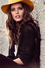 Preview iPhone wallpaper Emily Didonato 02