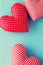Preview iPhone wallpaper Happy Mothers Day, love hearts