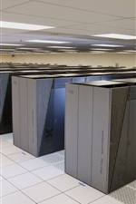 Preview iPhone wallpaper IBM Blue Gene supercomputer data center
