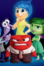 Preview iPhone wallpaper Inside Out 2015