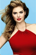 Preview iPhone wallpaper Kate Upton 03