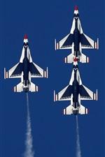미리보기 iPhone 배경 화면 많은 항공기, 전투기 비행 에어쇼