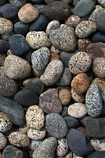 Preview iPhone wallpaper Many stones, pebbles
