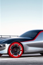 Preview iPhone wallpaper Opel GT concept supercar