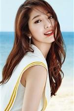 Preview iPhone wallpaper Park Shin Hye 05