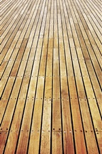 Preview iPhone wallpaper Parquet board, wooden