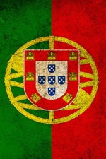 Preview iPhone wallpaper Portugal flag
