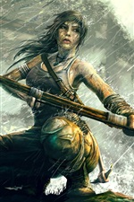 Rise of the Tomb Raider, Lara Croft na chuva