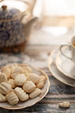 Snacks, cookies, coffee