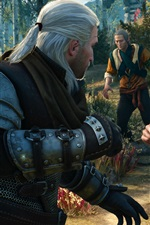 Preview iPhone wallpaper The Witcher 3: Wild Hunt, game screenshot