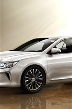 Preview iPhone wallpaper Toyota Camry 10th Anniversary silver car