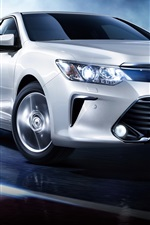 Preview iPhone wallpaper Toyota Camry 10th anniversary car speed