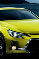 Preview iPhone wallpaper Toyota Mark X 350S GS green car