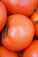 Preview iPhone wallpaper Vegetables tomatoes close-up