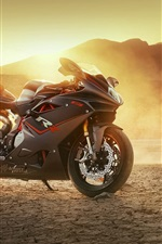 Preview iPhone wallpaper Agusta F4 motorcycle