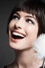 Preview iPhone wallpaper Anne Hathaway 14