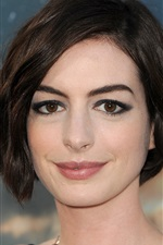 Preview iPhone wallpaper Anne Hathaway 15