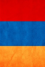 Preview iPhone wallpaper Armenia flag