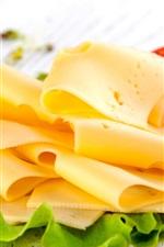 미리보기 iPhone 배경 화면 치즈, 토마토, 아침 식사