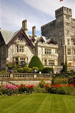 Preview iPhone wallpaper Colwood, British Columbia, Canada, Hatley Castle