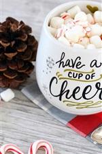 Xícara de sobremesa, doces