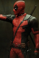 Preview iPhone wallpaper Deadpool and Teddy Bear