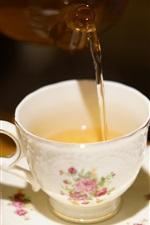 Preview iPhone wallpaper Drink tea, cup
